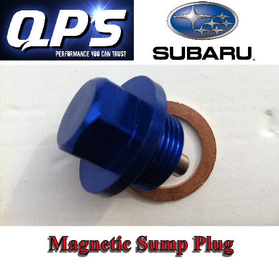 Subaru Impreza Saloon, Blue Magnetic Sump Plug + Washer